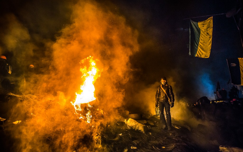Following Truce, Clashes Continue in Kiev