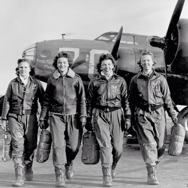 WASPs—Women Air Force Service Pilots—planes from the assembly lines to the front lines during WWII.