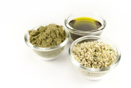 A variety of hemp products.