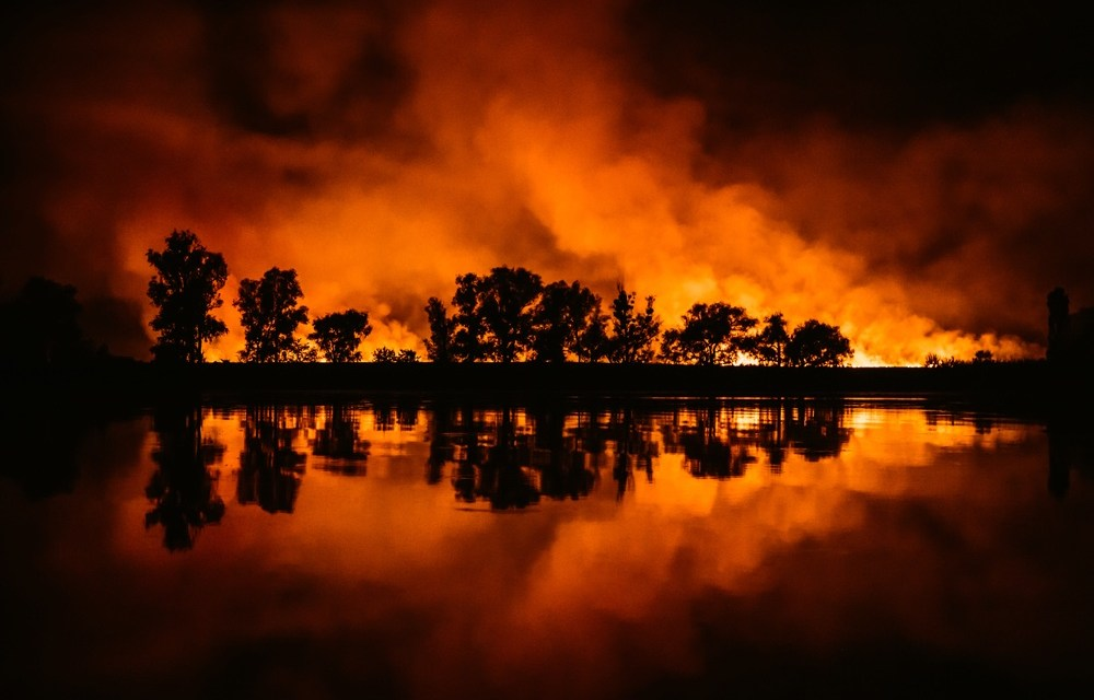 Fires Close in on Vacaville, CA as City is Evacuated