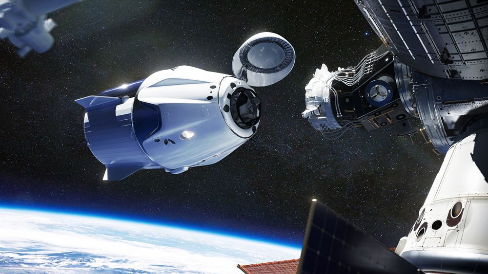 SpaceX Capsule Successfully Docks with International Space Station