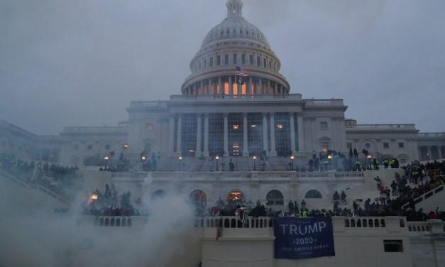 Pro-Trump Rioters Storm U.S. Capitol Building