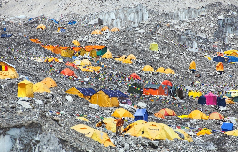Everest Base Camp a Hotspot for COVID-19