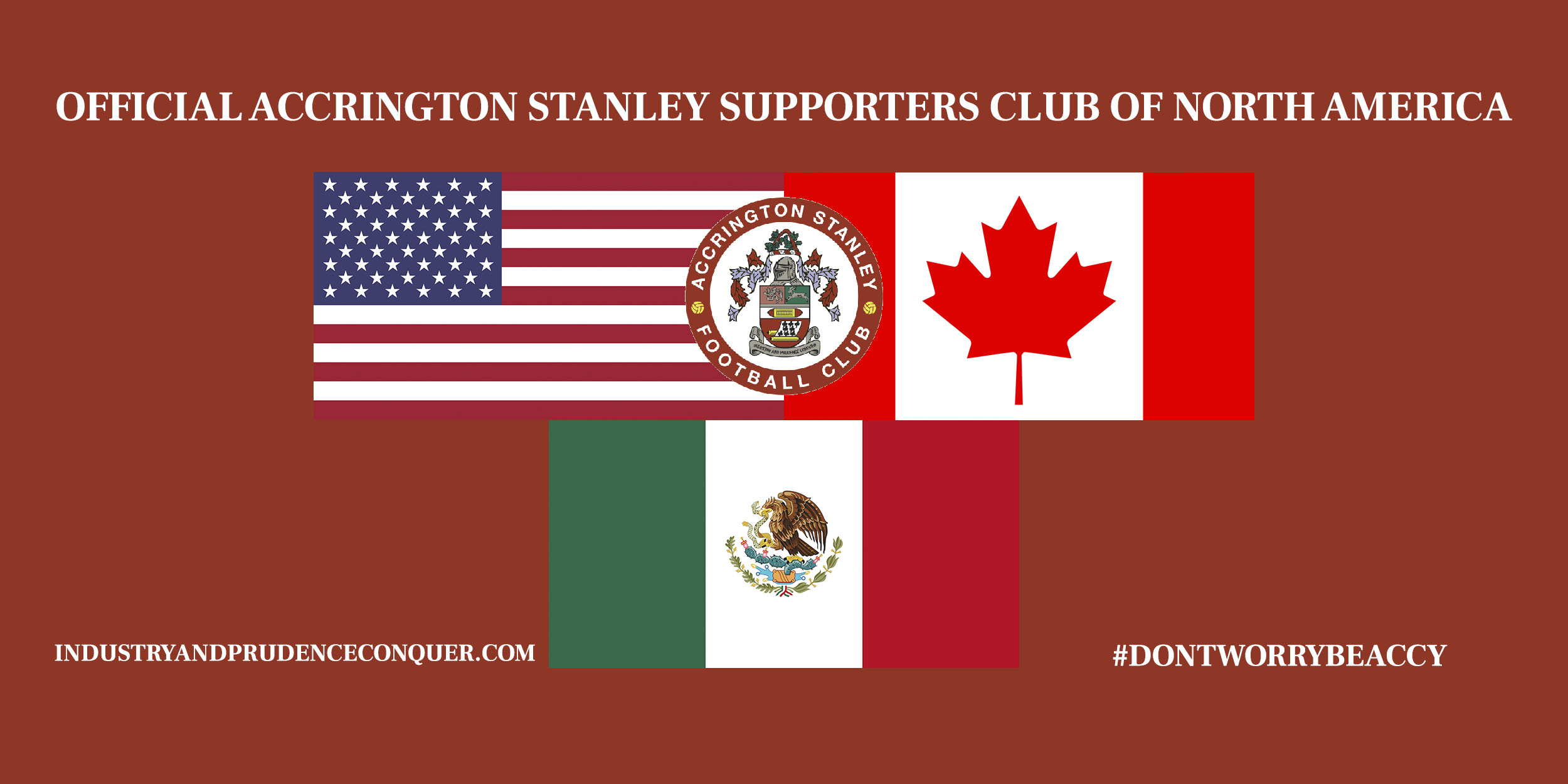 Accrington Stanley North America banner
