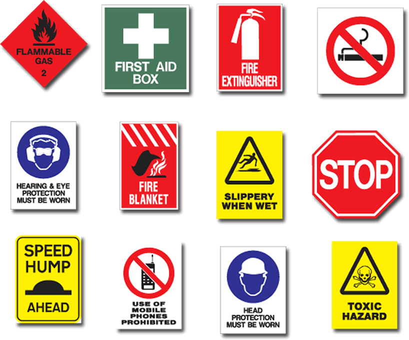 Safety Sign- Must Aware With Safety Signs