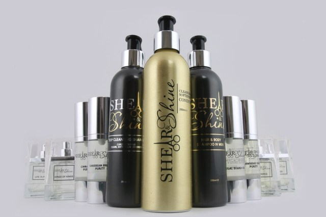 Male grooming set from shear and shine