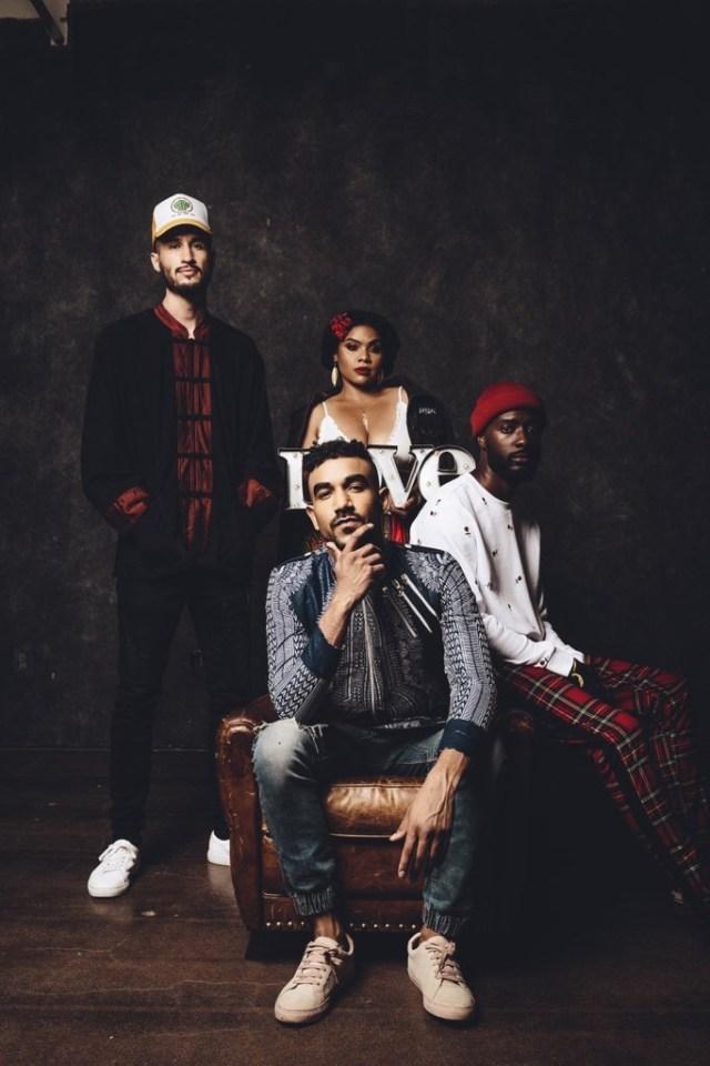 Band The.Wav debuts brand new EP make more love