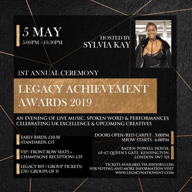 Legacy nation awards