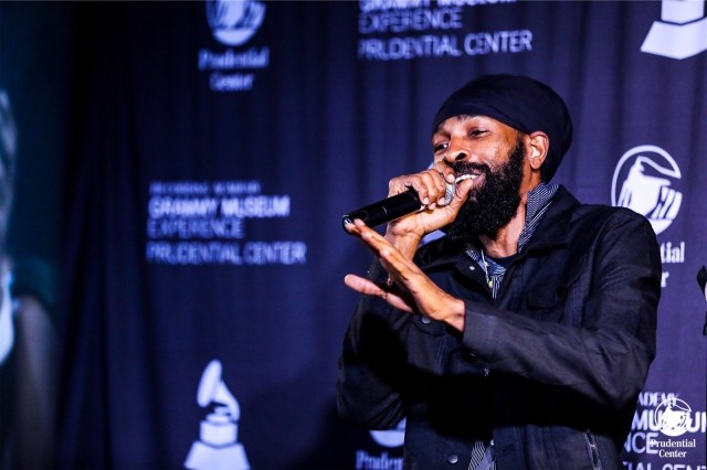 Spragga Benz at the Prudential Centre for the Grammy museum experience
