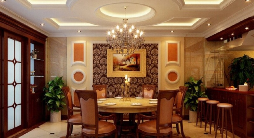 Dining room false ceiling designs for Dining room false ceiling designs