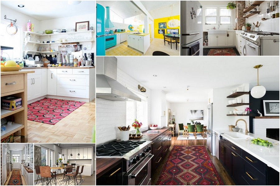 30 creative kitchen rug ideas