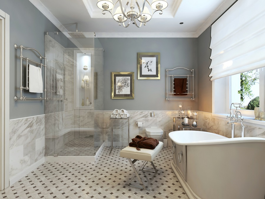 20 classic gray bathroom ideas