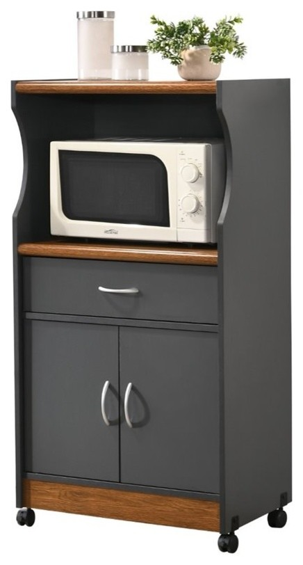 15 creative microwave stand ideas to