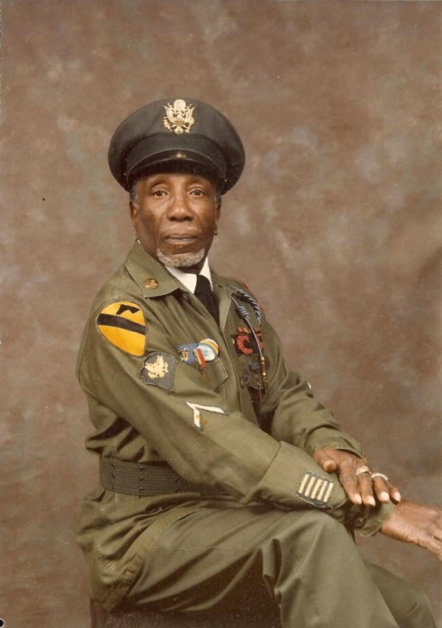 Clarence Richardson, World War II Veteran; James A. Stockton's Uncle