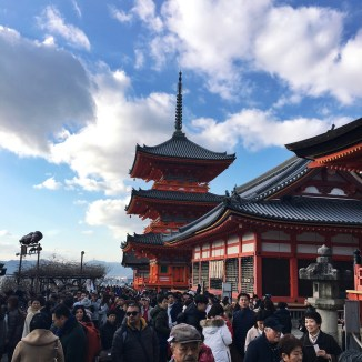 New Year's Day in Kyoto