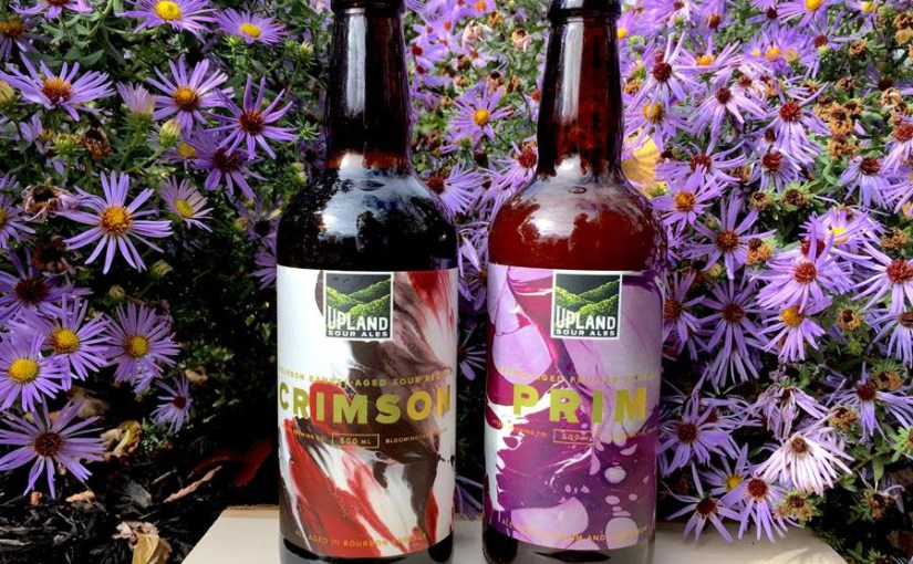 Upland releases its last two sours of the year, Crimson and Prim