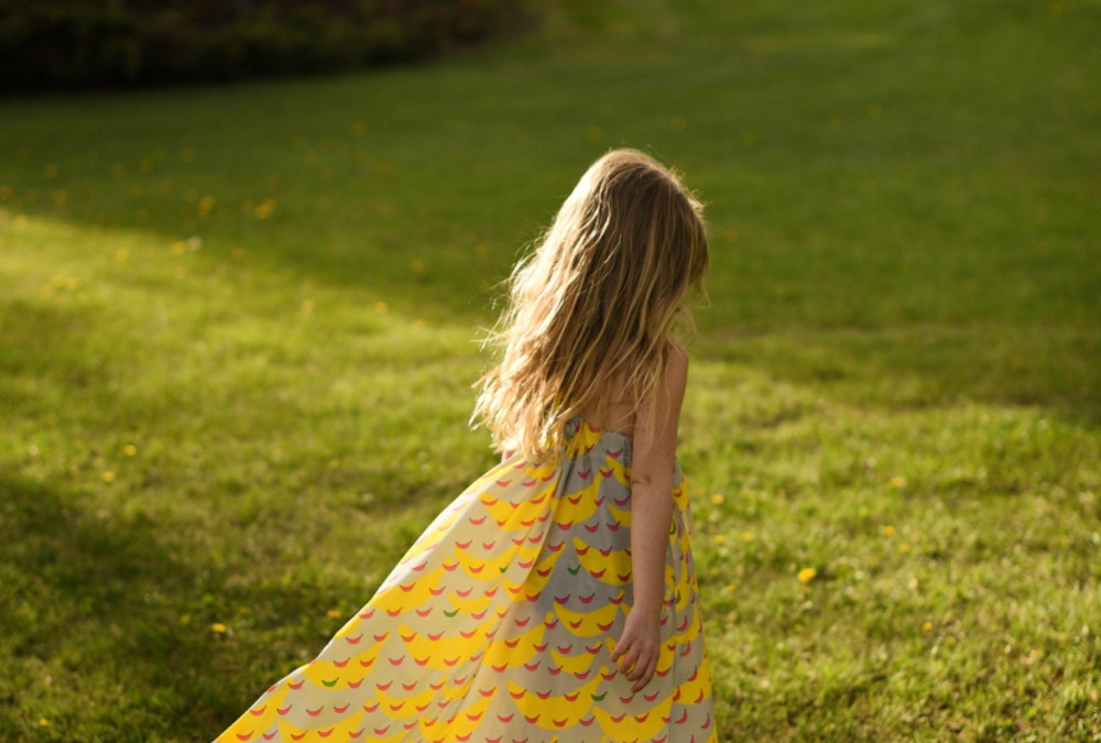 Dreamy Cascade maxi by Jill from Kneesocks and Goldilocks