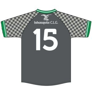 Yeungling Light Travel Camogie Jersey - Back