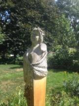 Statue Garden Wedding
