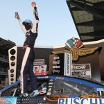 Harvick Powers Away in Overtime To Earn Third Big Machine Hand Sanitizer 400 Victory
