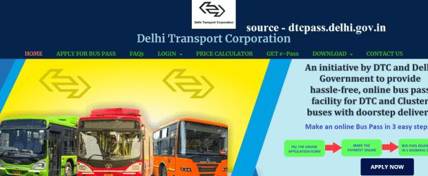 Delhi Student Bus Pass Form 2021