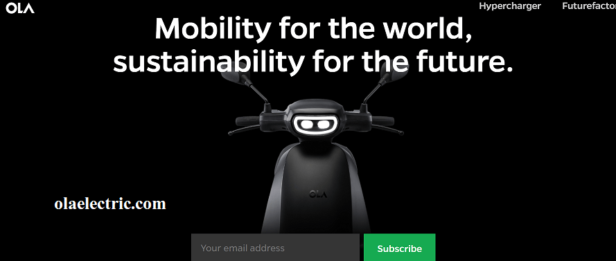 Ola Electric Scooter Franchise online apply