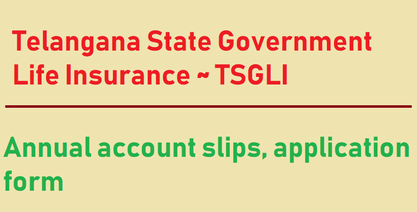 TSGLI Accounts Slip download pdf