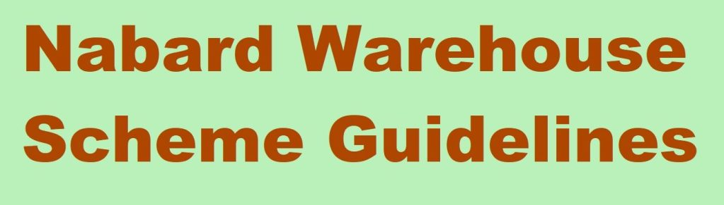 Nabard Warehouse Scheme