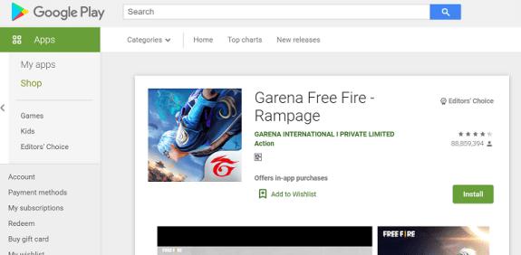 Garena Free Fire Stylish Nickname
