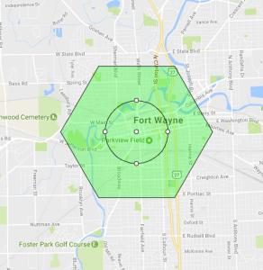 Pokemon Go Map Fort Wayne Indiana