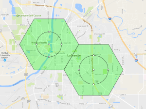 Pokemon Go Map West Lafayette Indiana