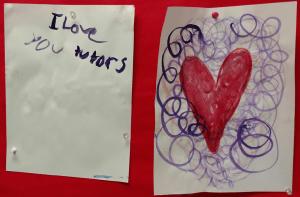 Art by 2nd grade student, Allison