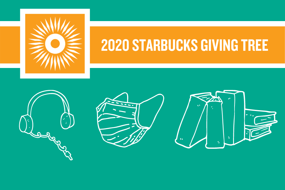 2020 Starbucks Giving Tree