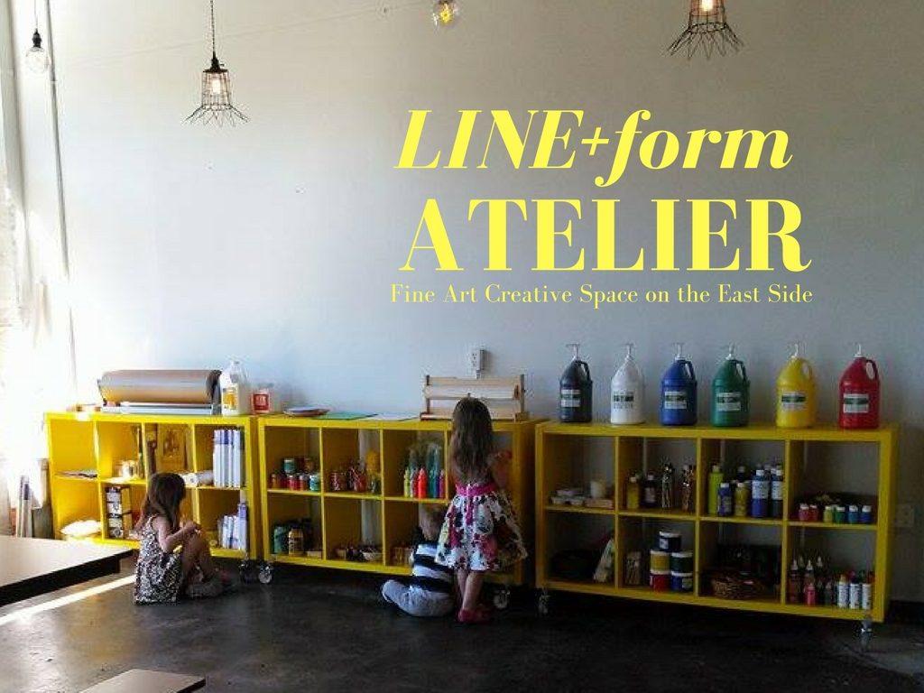 Line Form Atelier Exploratory Fine Art Studio For Kids