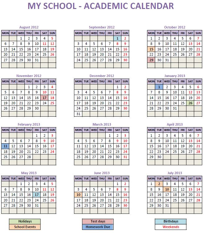 We choose to upload a picture of this calendar because we think the image is the most good in my opinion. All-Purpose Calendar Maker (Free Excel Template)