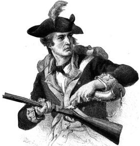 Silly gun toting American