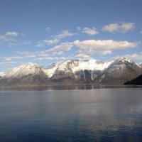 Exploring Hardangerfjord. Norway.