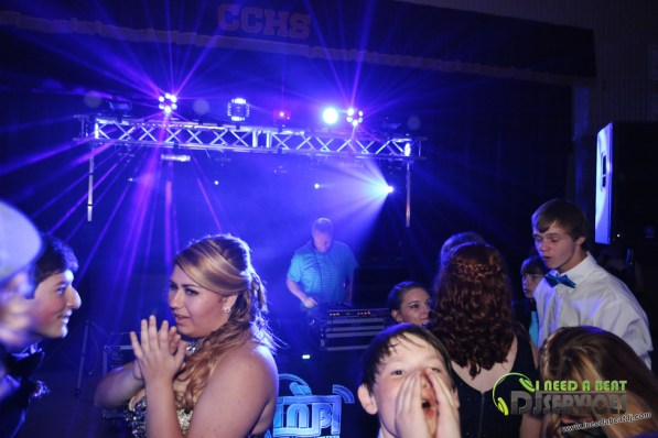Clinch County High School Homecoming Dance 2015 School Dance DJ (122)