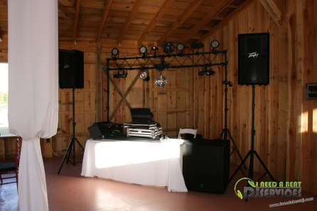 Tasha & Dalton Perry Wedding & Reception Twin Oaks Farms Mobile DJ Services (11)