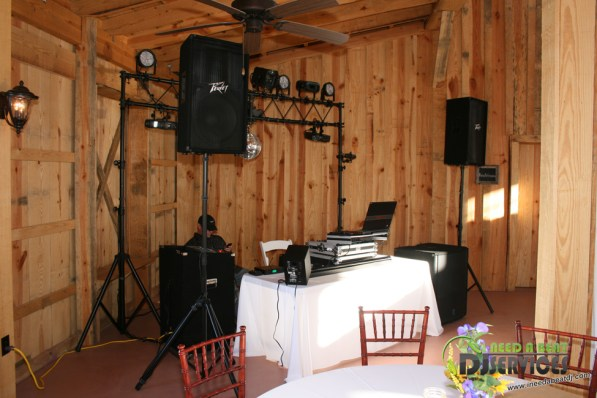 Tasha & Dalton Perry Wedding & Reception Twin Oaks Farms Mobile DJ Services (12)