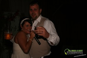 Tasha & Dalton Perry Wedding & Reception Twin Oaks Farms Mobile DJ Services (126)