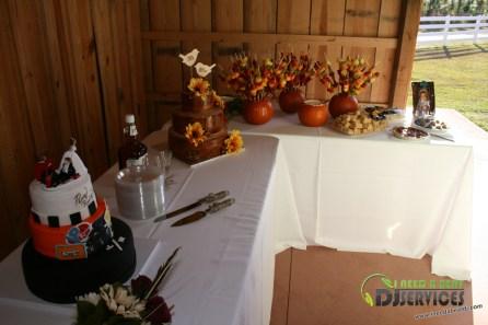 Tasha & Dalton Perry Wedding & Reception Twin Oaks Farms Mobile DJ Services (21)