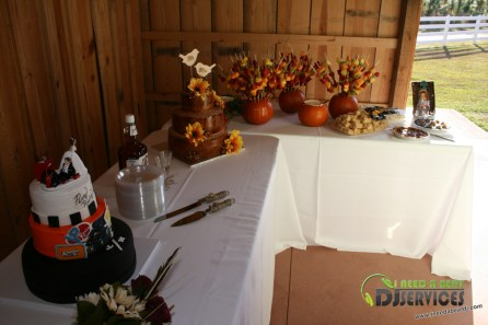 Tasha & Dalton Perry Wedding & Reception Twin Oaks Farms Mobile DJ Services (21)