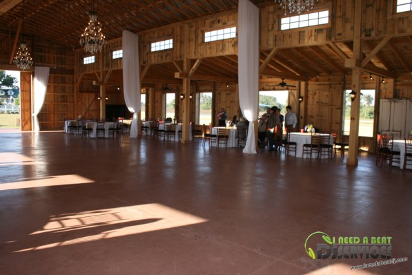 Tasha & Dalton Perry Wedding & Reception Twin Oaks Farms Mobile DJ Services (23)
