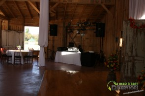 Tasha & Dalton Perry Wedding & Reception Twin Oaks Farms Mobile DJ Services (24)