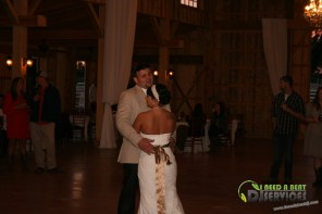 Tasha & Dalton Perry Wedding & Reception Twin Oaks Farms Mobile DJ Services (26)