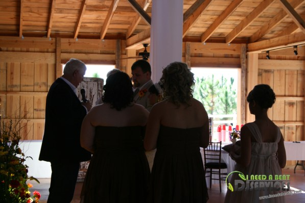 Tasha & Dalton Perry Wedding & Reception Twin Oaks Farms Mobile DJ Services (9)