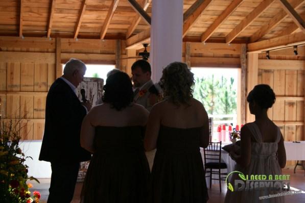 Tasha & Dalton Perry Wedding & Reception Twin Oaks Farms Mobile DJ Services (9)