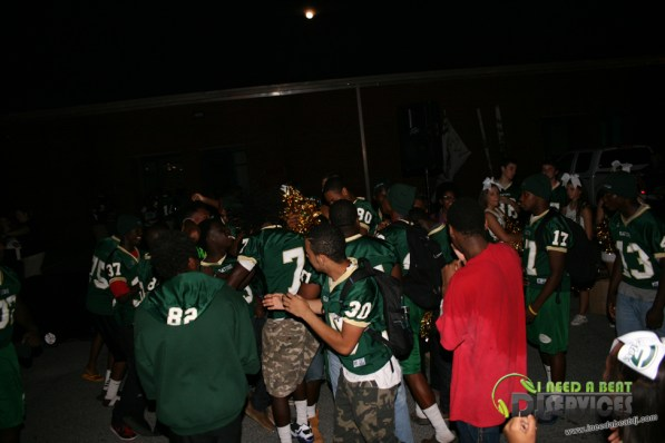 Ware County High School Homecoming Bonfire Pep Rally Mobile DJ Services (67)