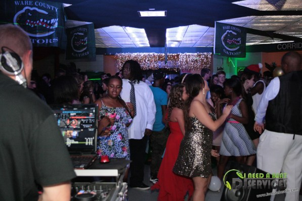 Ware County High School Homecoming Dance 2013 Mobile DJ Services (375)